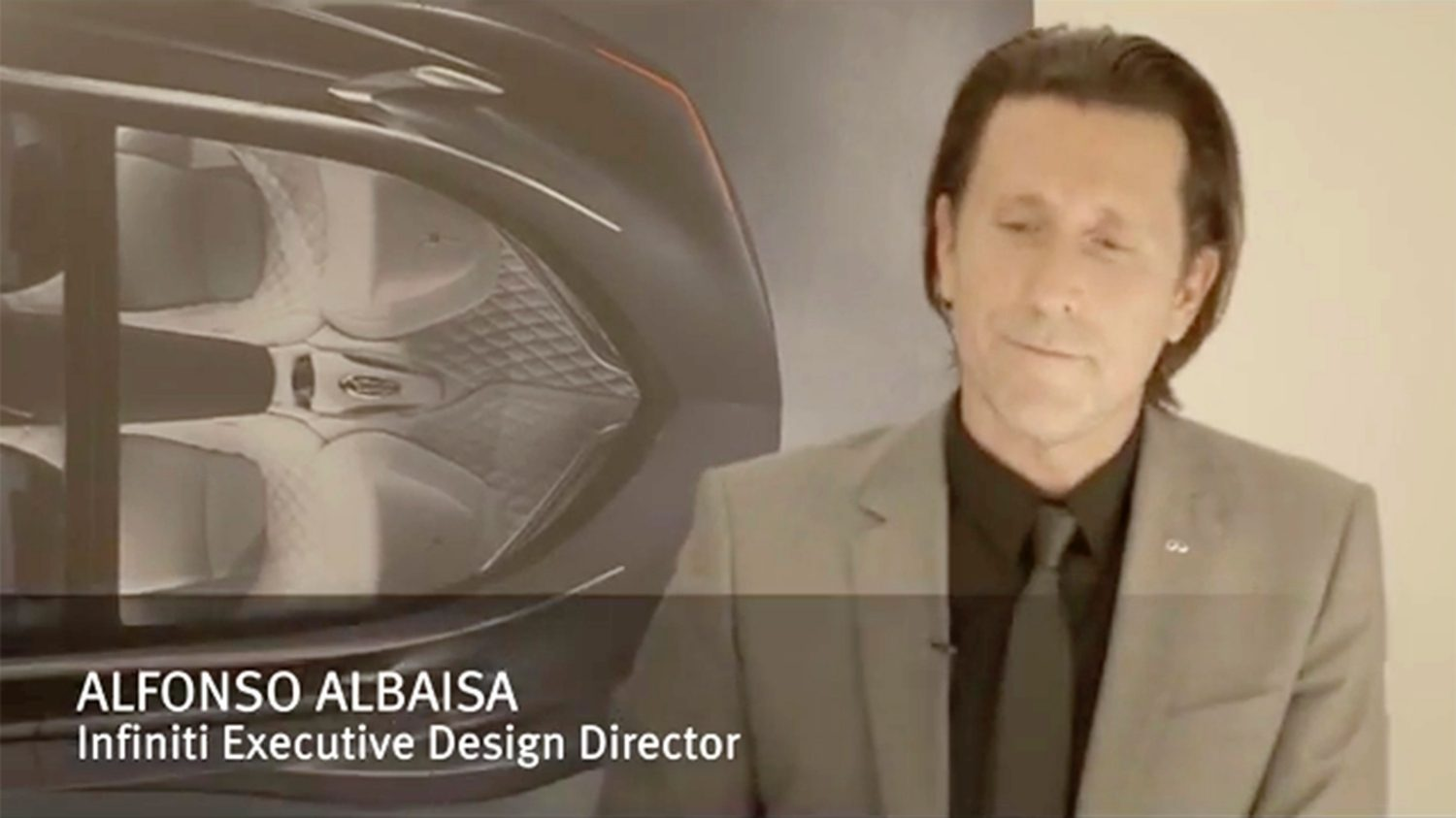 Infiniti Executive Design Director | Q30 | Showcasing