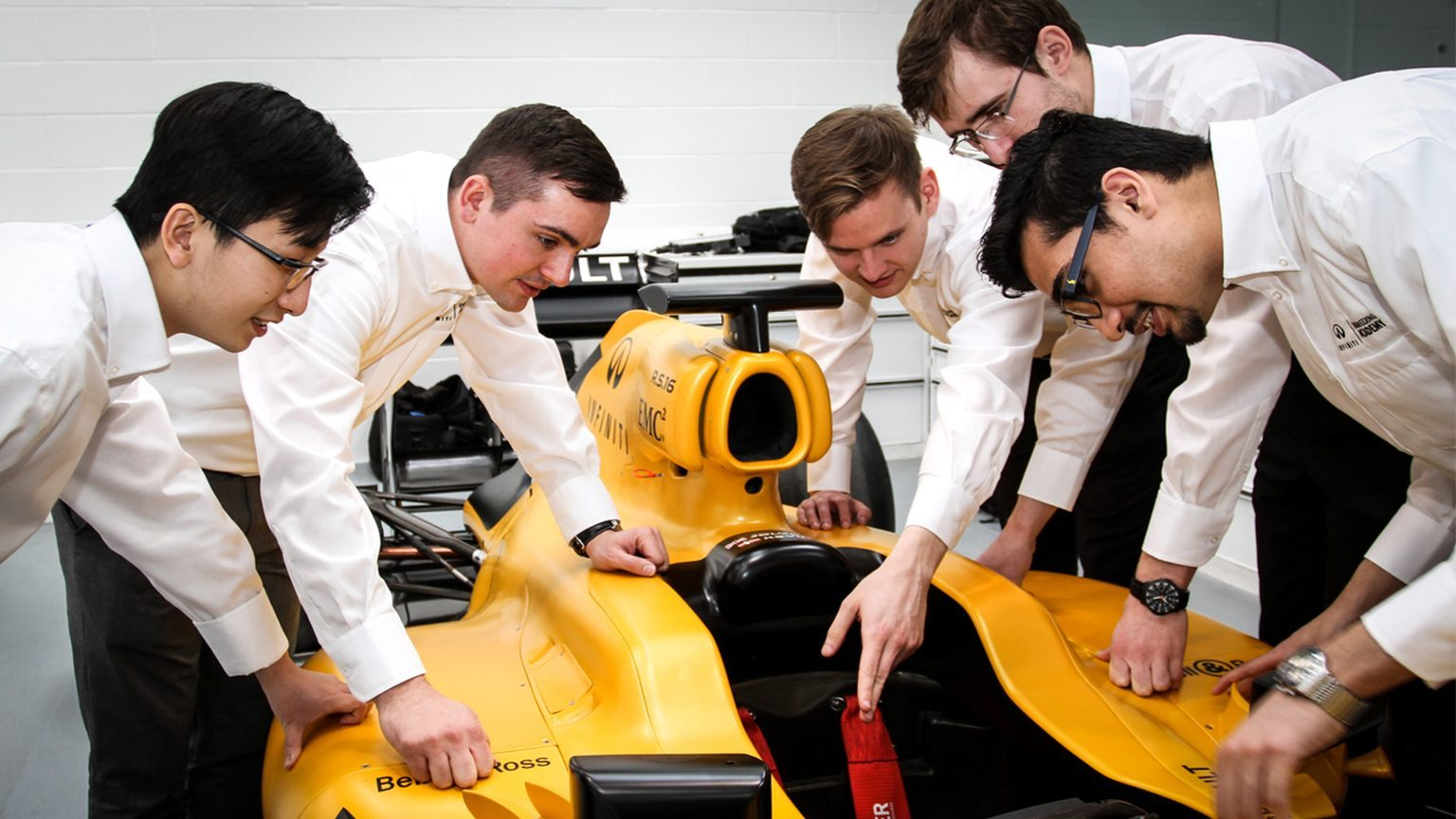 2015 Infiniti Engineering Academy Students