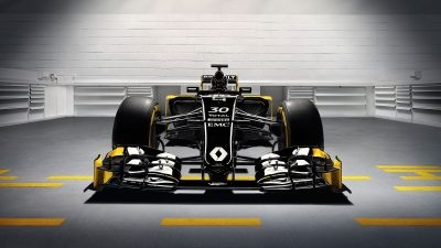 F1 front view