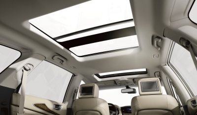 Interior sunroof