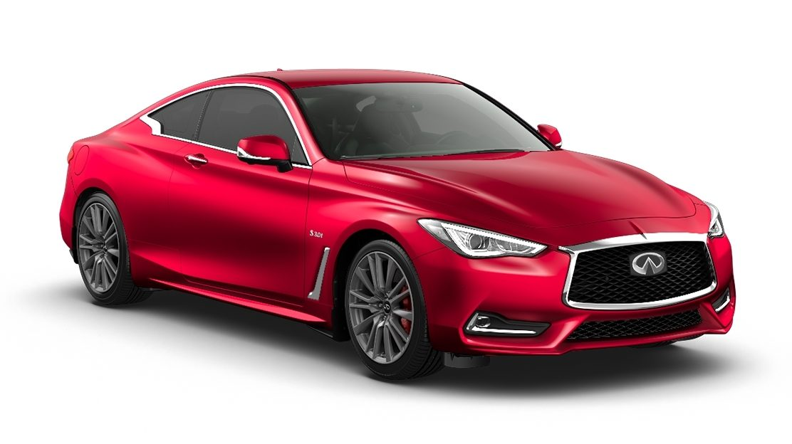 New INFINITI Q60 Coupe - Luxury High Performance Sports Coupe Car