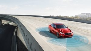 2018 INFINITI Q50 Red Sport Sedan Safety Features