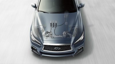 2020 INFINITI Q50 Sport Sedan Performance Direct Adaptive Steering System