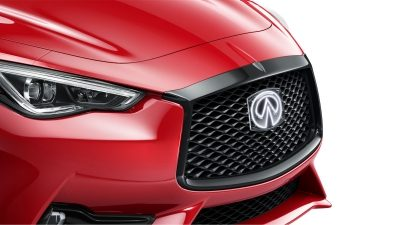 2020 INFINITI Q60 Red Sport 400 Sports Coupe Design | Rediant Signature Double-Arch Grille