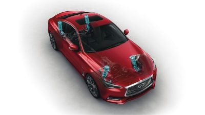 2018 INFINITI Q60 Red Sport 400 Sports Coupe | Dynamic Digital Suspension