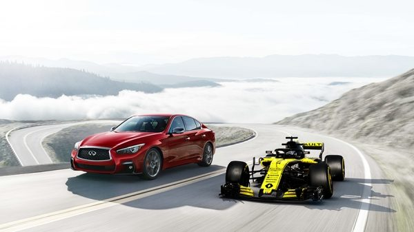 INFINITI AND RENAULT SPORT FORMULA ONE™ TEAM HYBRID POWER