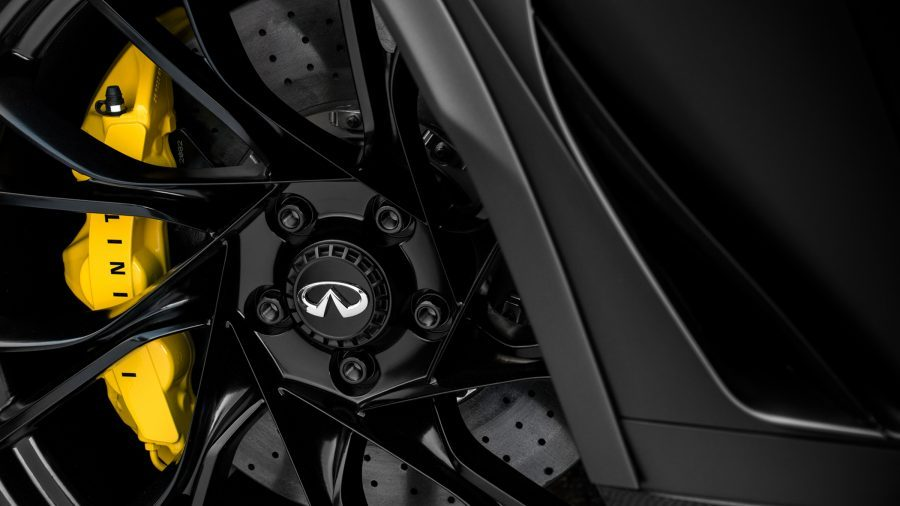 Project Black S brakes are made from ceramic discs for reliable vehicle braking