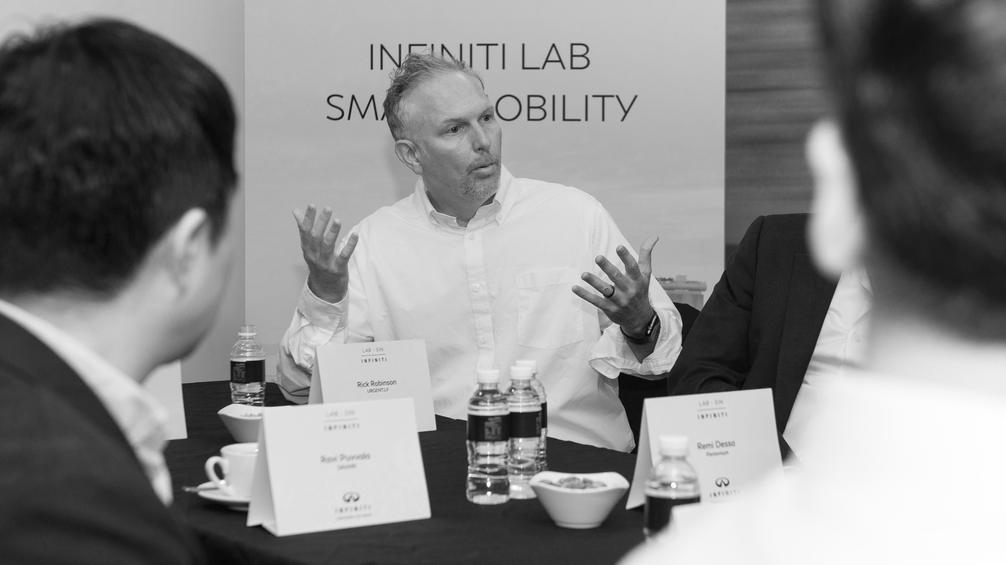 INFINITI LAB Integrate program participants