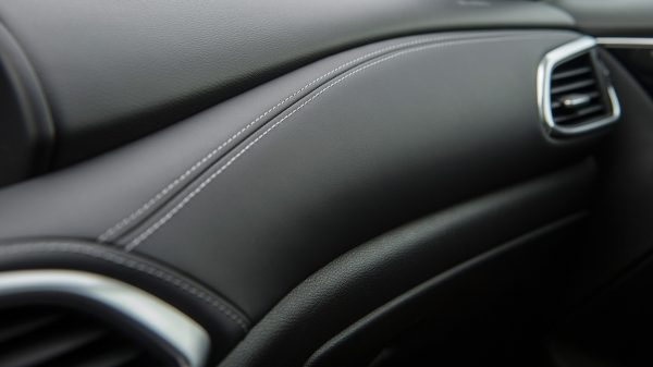 2020 INFINITI QX30 Premium Crossover Leatherette Stitched Dashboard