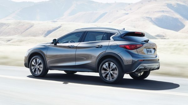 2018 INFINITI QX30 Premium Crossover 7-Speed Dual Clutch Transmission