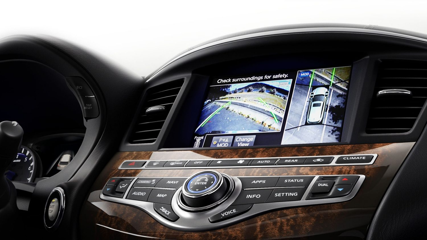 2018 INFINITI QX60 Crossover Around View Monitor