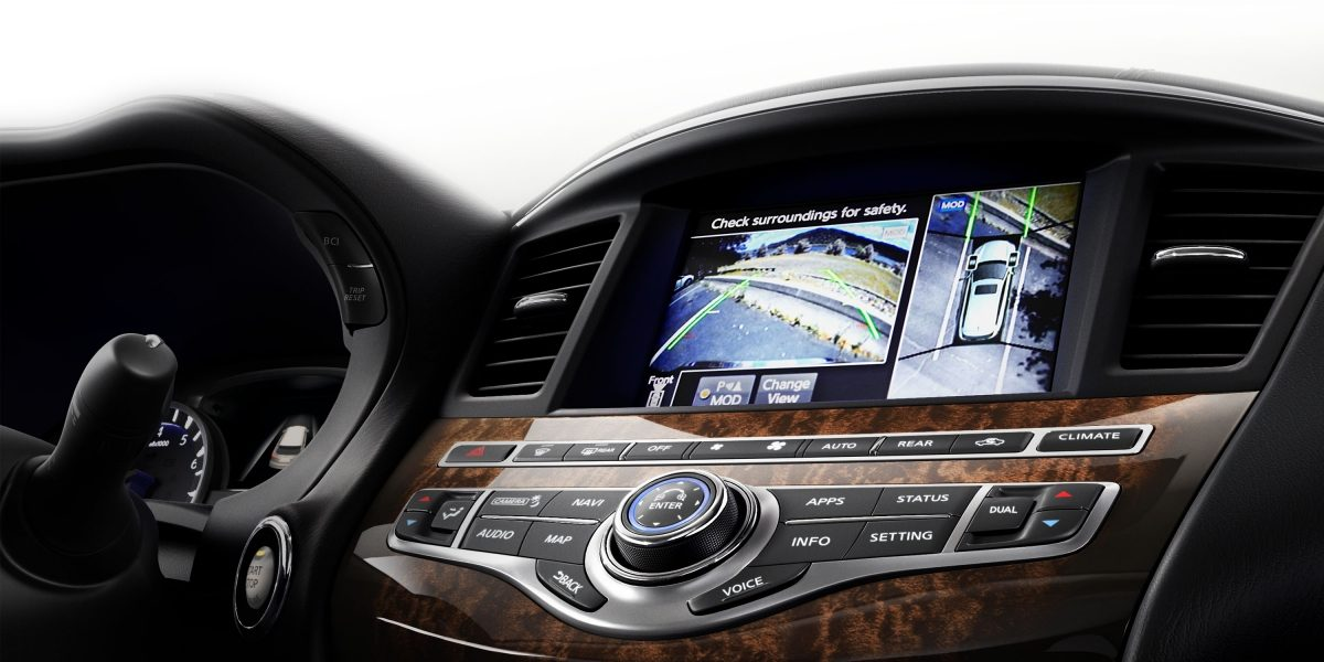 2018 INFINITI QX60 Crossover interior information display