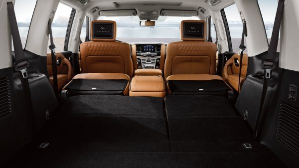 2020 INFINITI QX80 SUV Design Includes 95.1 Cubic Feet of Cargo Space Second Option