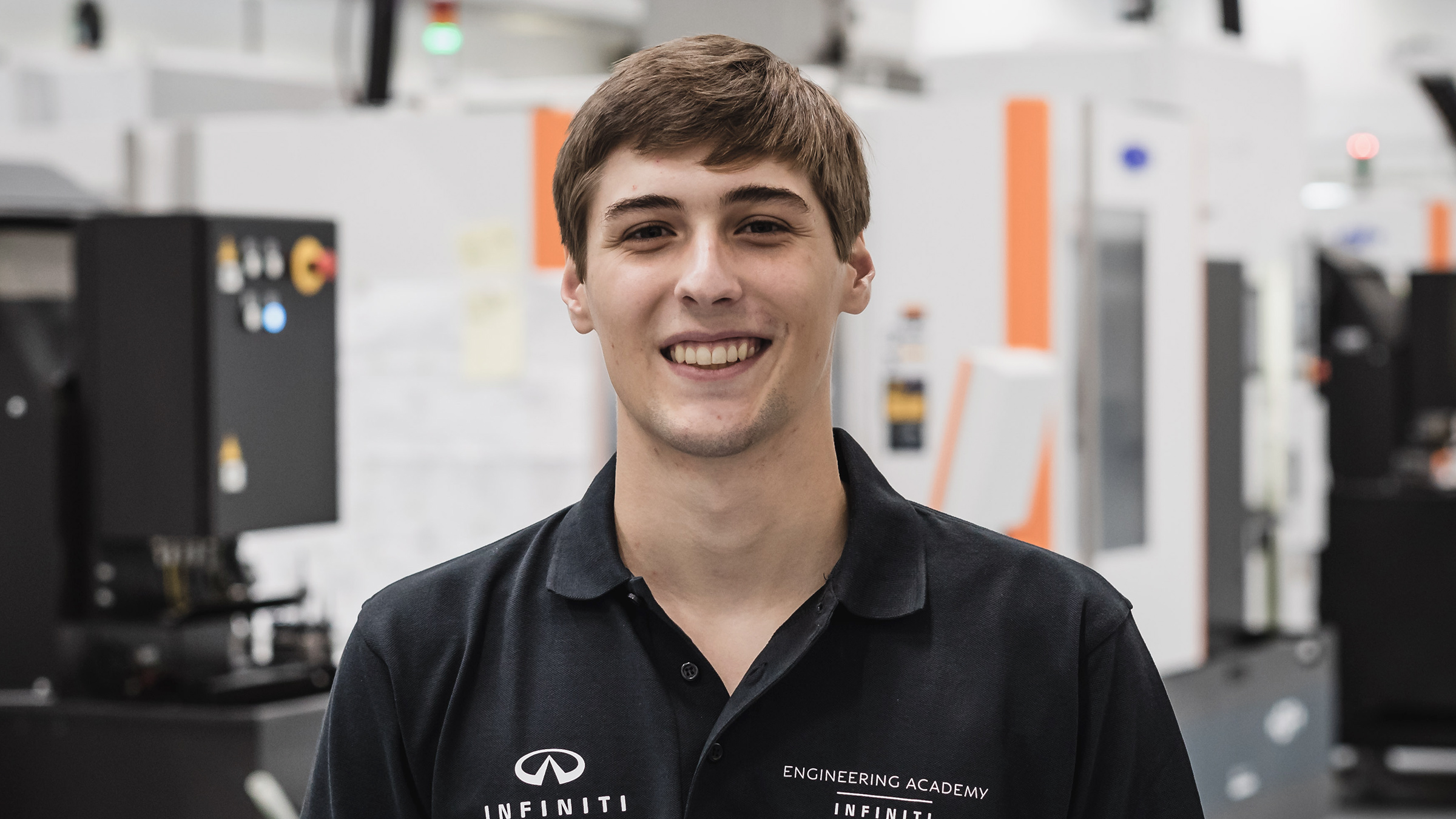INFINITI Engineering Academy 2019 Engineer Patricio Barroso Profile