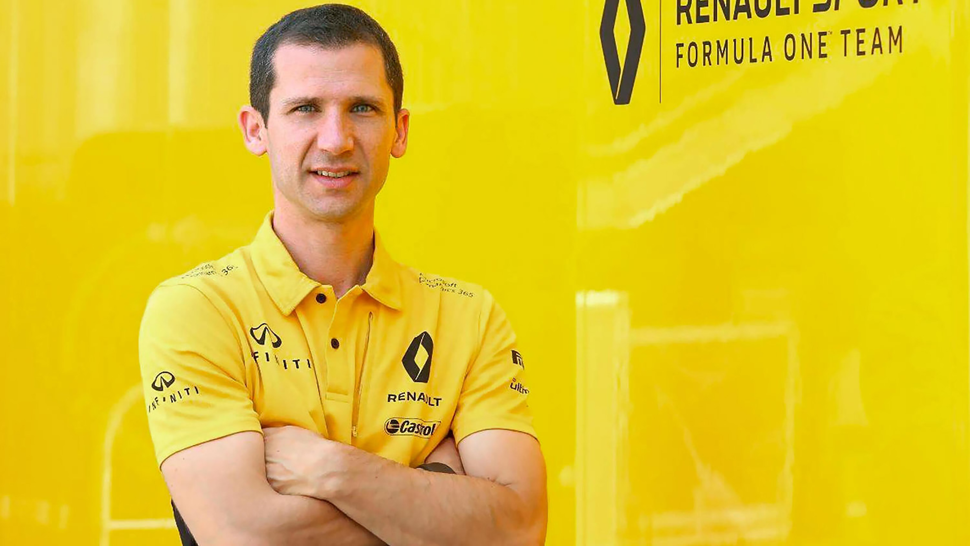 INFINITI and Renault Sport Formula 1 Team Engine Technical Director Rémi Taffin