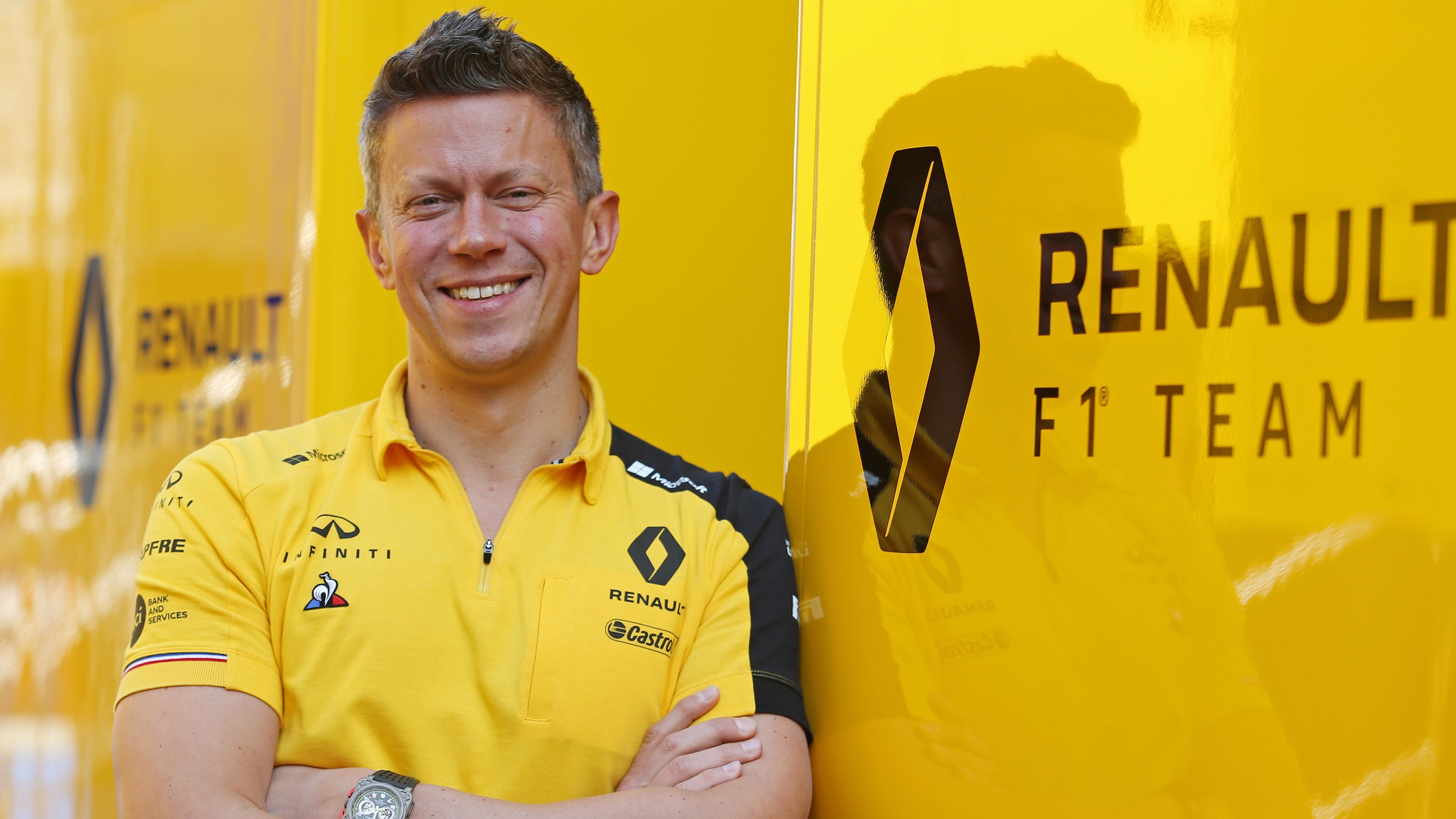 INFINITI and Renault Sport Formula 1 Executive Director Marcin Budkowski