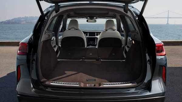 2019 INFINITI QX50 Luxury Crossover Trunk Space