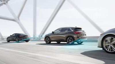 2020 INFINITI QX50 Luxury Crossover Drive Assist technology