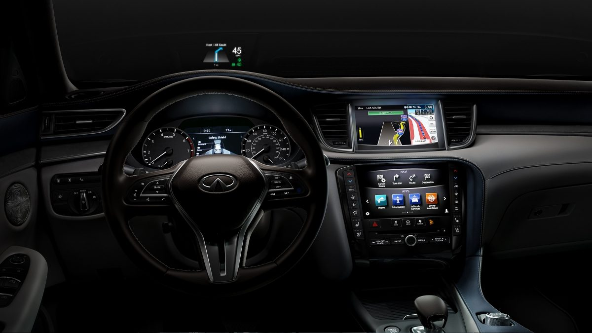 2019 INFINITI QX50 Luxury Crossover Interior Monitors