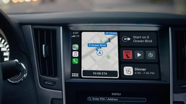 2018 INFINITI Q50 Red Sport Sedan Connectivity |INFINITI  InTouch Navigation System