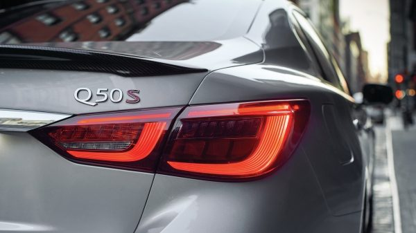 2020 INFINITI Q50 Sport Sedan Design Enhanced LED Taillights