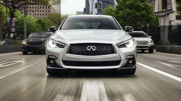 2020 INFINITI Q50 Sport Sedan Performance Up to 400 Horsepower