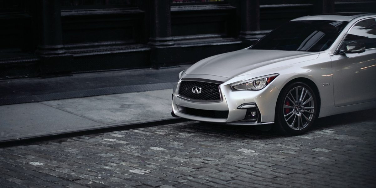 2020 INFINITI Q50 Sport Sedan Safety Parked Side View