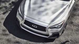 2020 INFINITI Q50 Sport Sedan Performance Above view