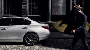 2020 INFINITI Q50 Sport Sedan Safety Side Profile
