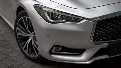 2020 INFINITI Q60 Red Sport 400 Sports Coupe Design Staggered 20-inch Aluminum-alloy Wheels