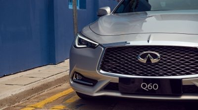 2020 INFINITI Q60 Red Sport 400 Sports Coupe Design Wide Powerful Stance