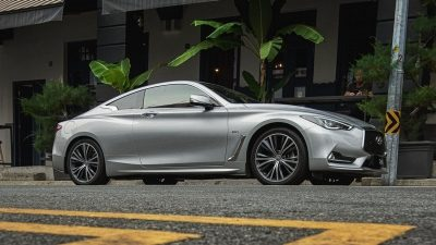2020 INFINITI Q60 Red Sport 400 Sports CoupeDynamic Digital Suspension