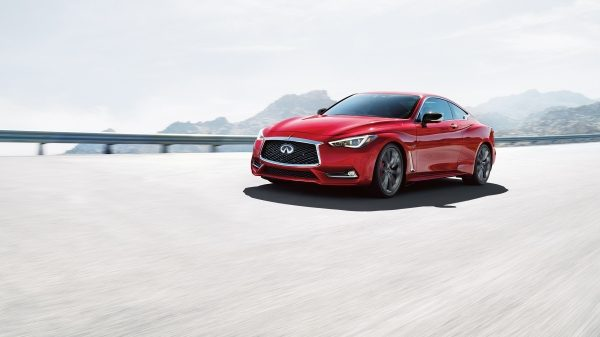 2020 INFINITI Q60 Red Sport 400 Sports Coupe Safety | Lane Departure Warning