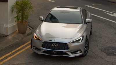 2020 INFINITI Q60 Red Sport 400 Performance Sports Coupe Safety and Control