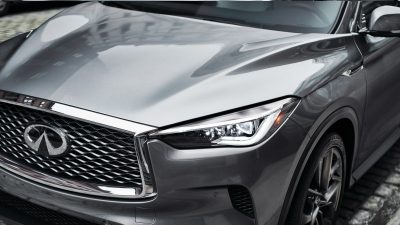2020 INFINITI QX50 Luxury Crossover Exterior Clamshell Hood And Front Lights