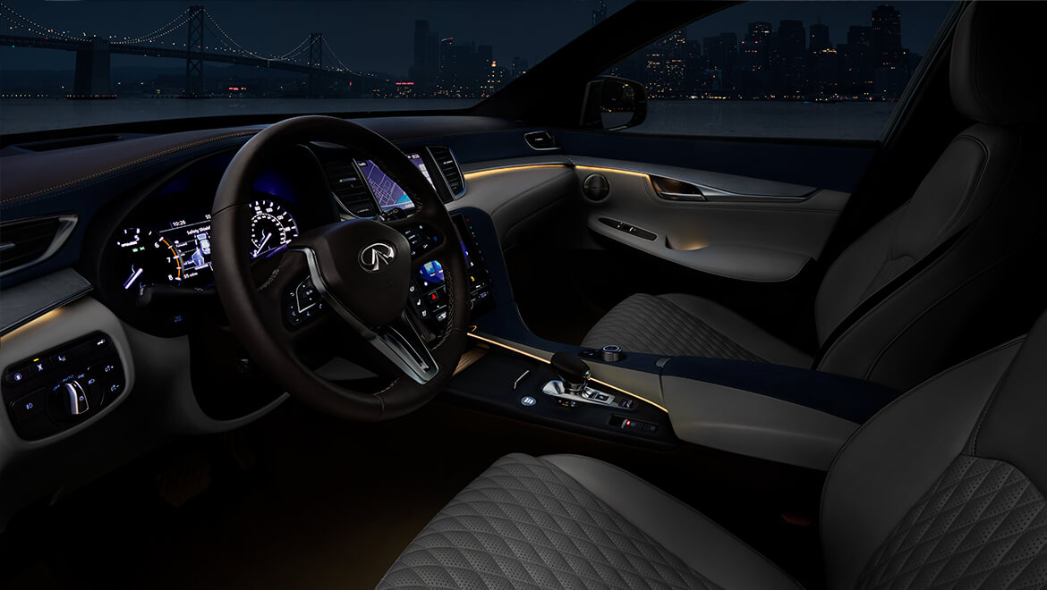 2019 INFINITI QX50 Luxury Crossover Ambient Lighting