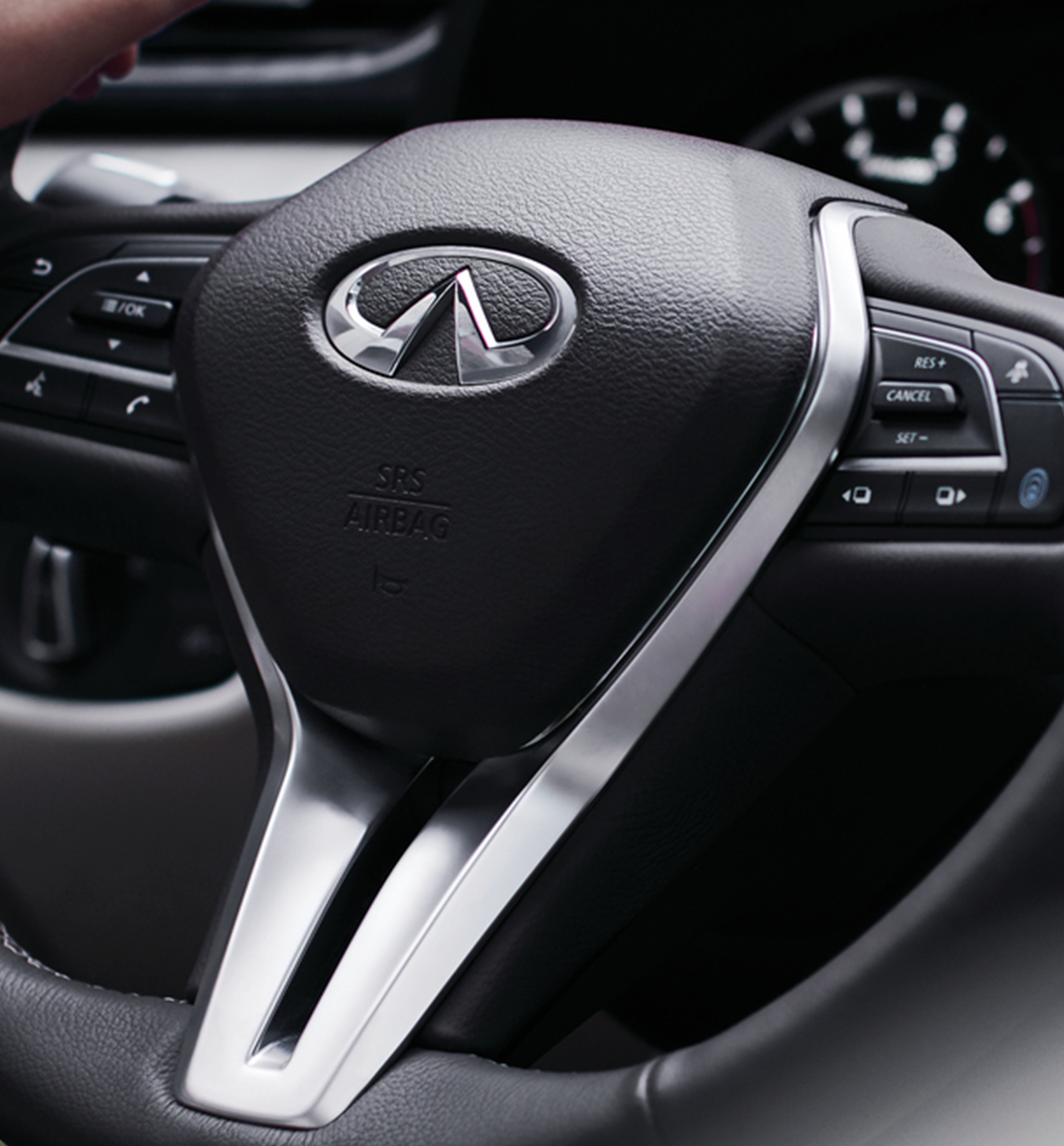 2020 INFINITI QX50 Luxury Crossover Steering Wheel