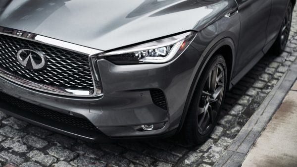 2020 INFINITI QX50 Luxury Crossover Front Lights And Bumper Details