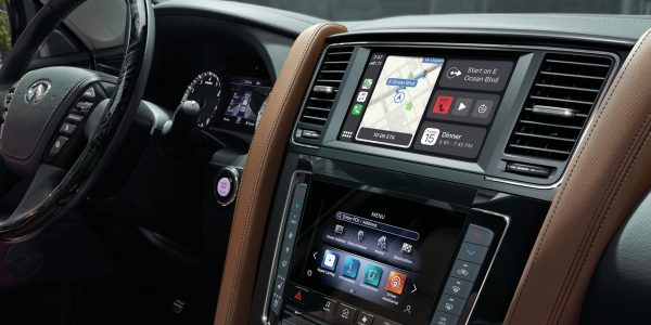 2020 INFINITI QX80 SUV Connectivity Features INFINITI InTouch