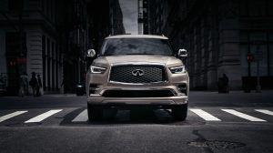 2020 INFINITI QX80 SUV Power and Performance in Action