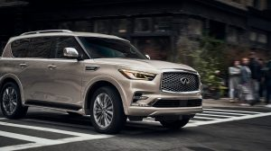 2019 INFINITI QX80 SUV Specification Thumbnail