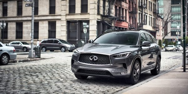 Spacious cargo space in the luxurious 2021 INFINITI QX50 crossover