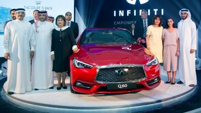 New INFINITI Q60 sports coupe Launched in Bahrain