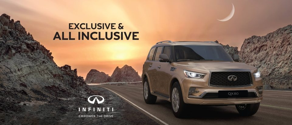 5 years extended warranty on new Infiniti QX80
