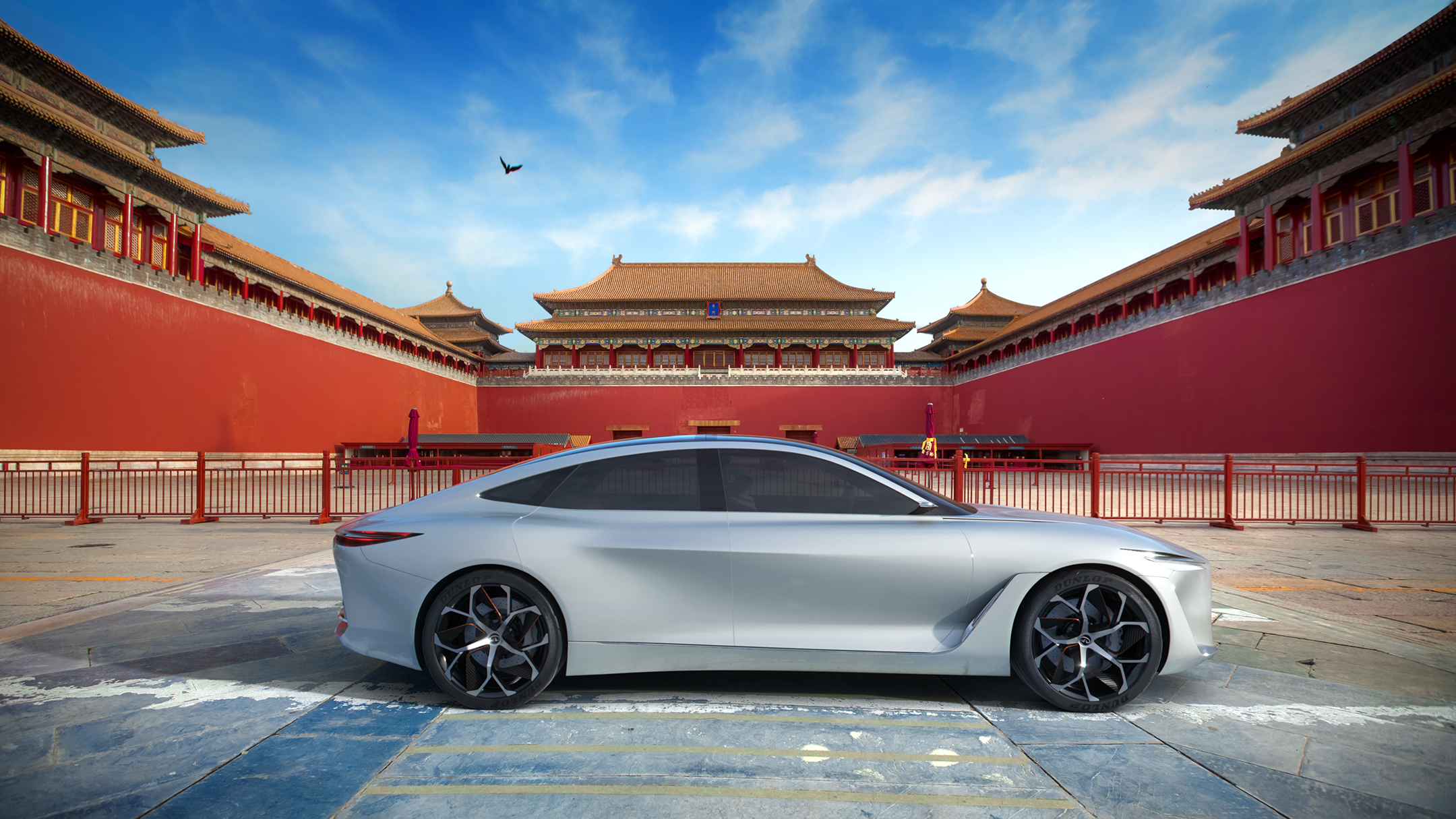Infiniti at the forbidden palace