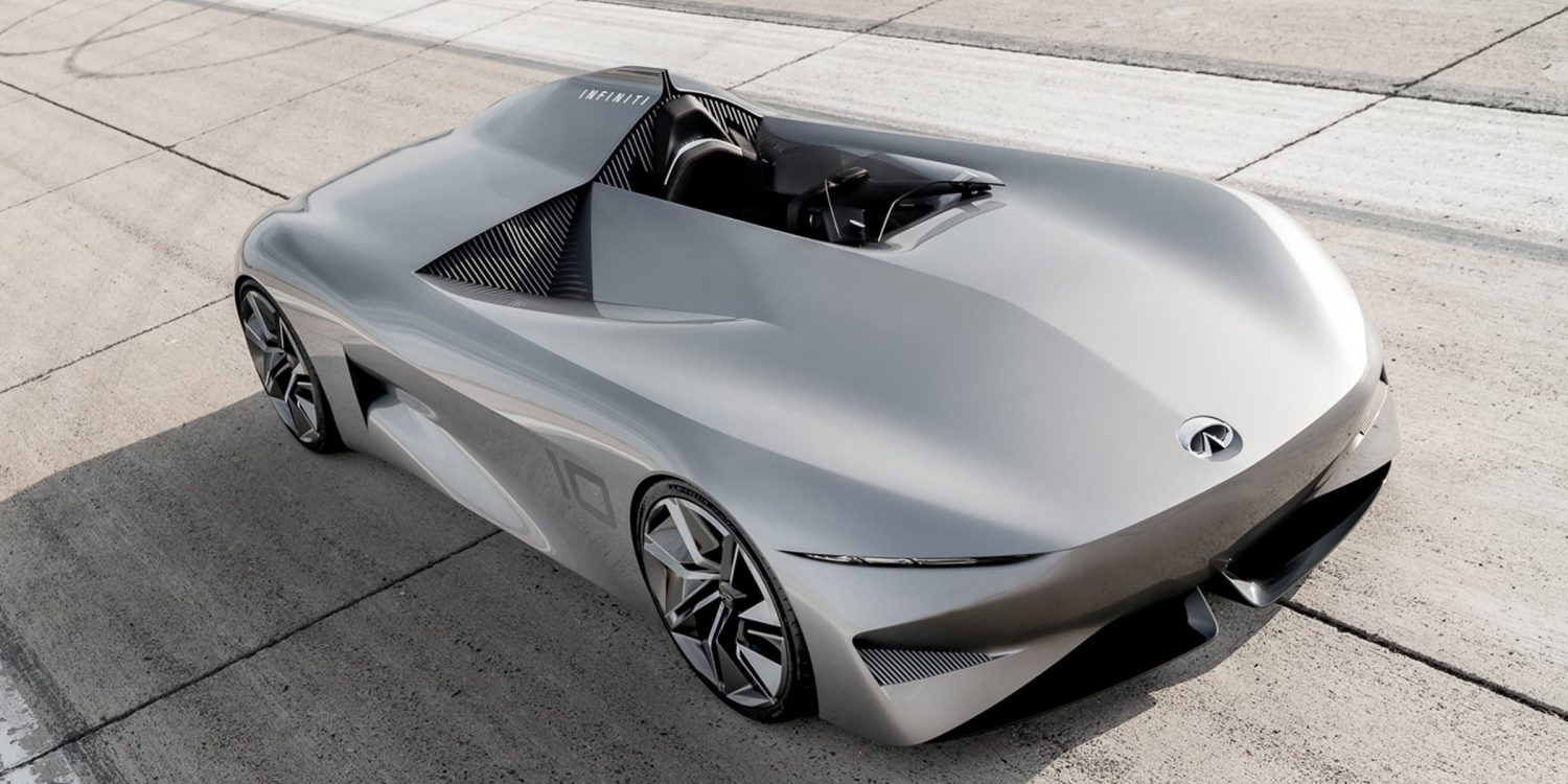 Infiniti prototype 10 acceleration and speed
