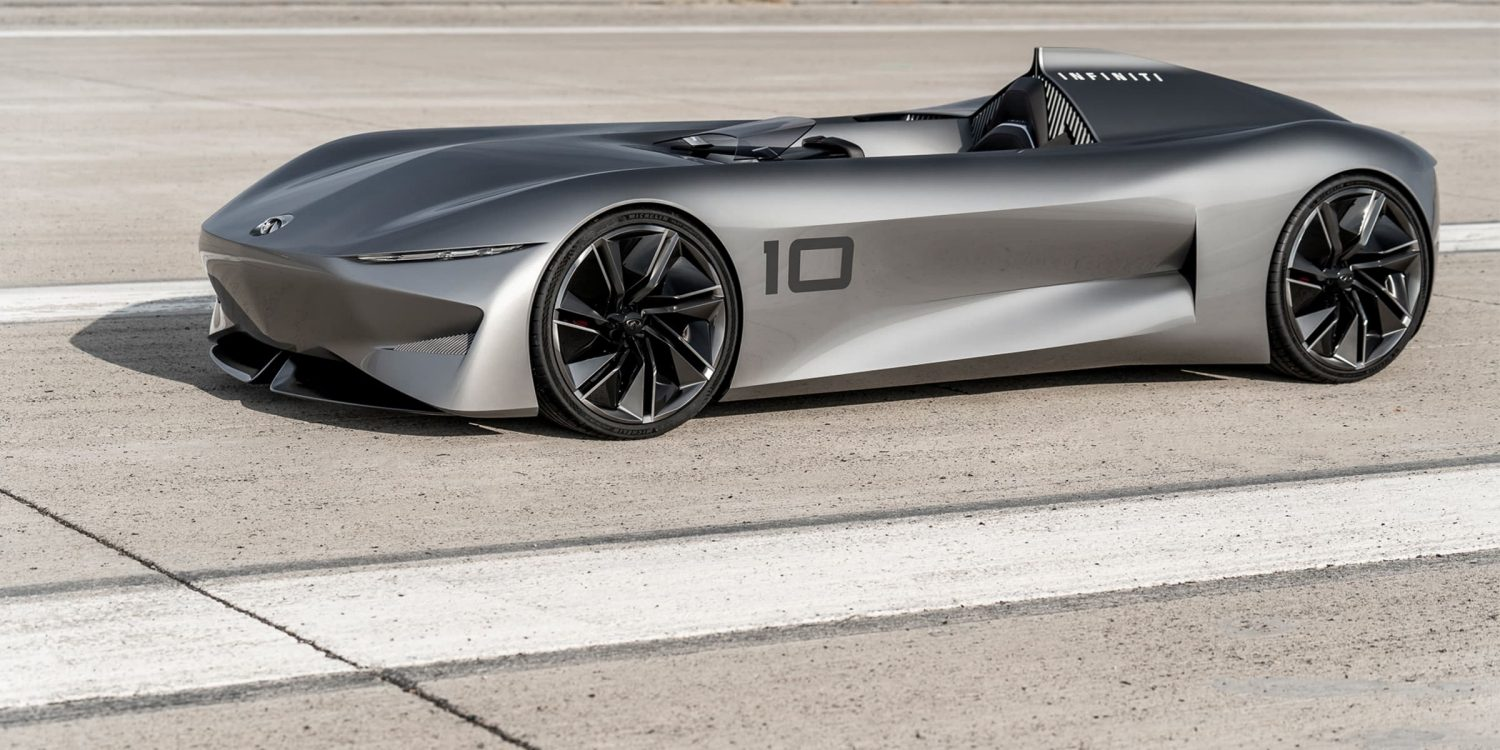Infiniti prototype 10 concept car instant power