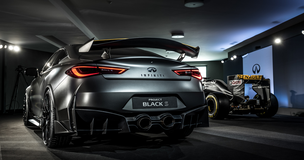 PROJECT BLACK S, powered by Energy Recovery System technology