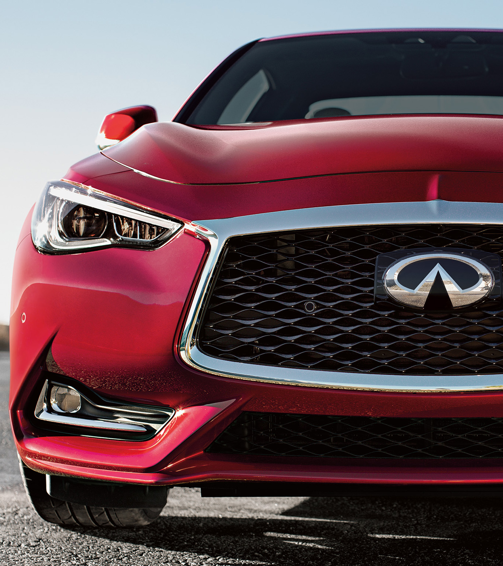 Q60, Avec Technologie de direction Direct Adaptive Steering