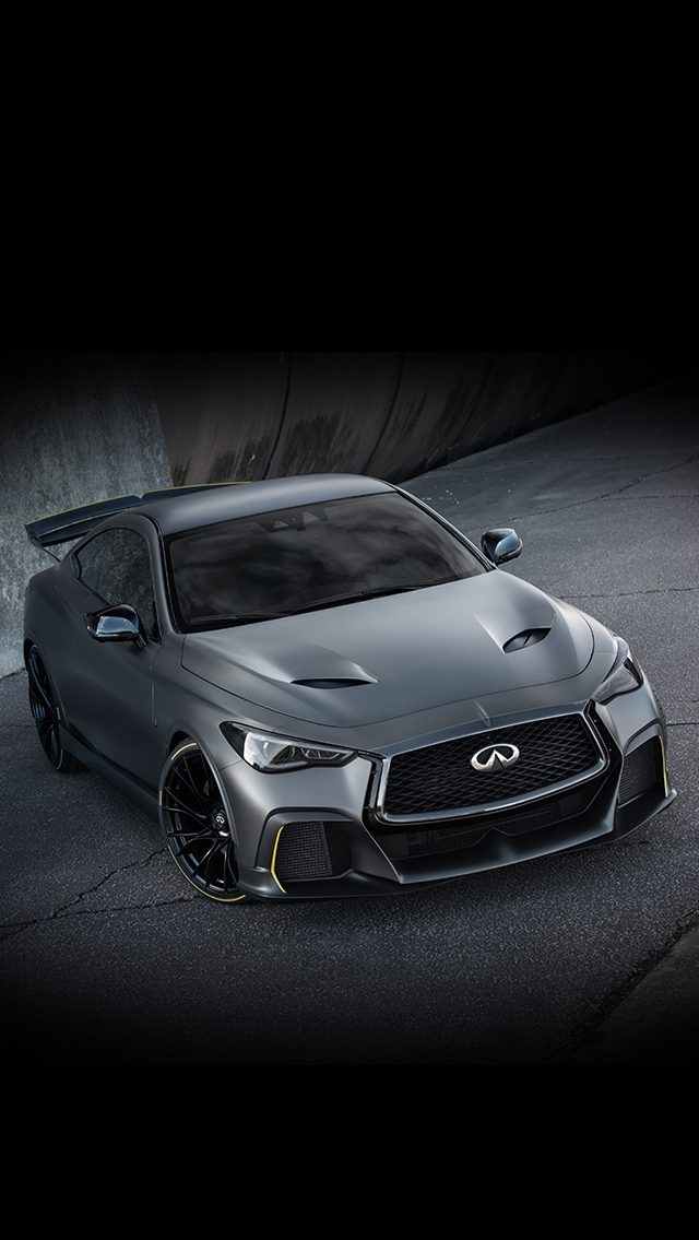 INFINITI Project Black S front features high-performance aesthetic inspired by F1™ technologies